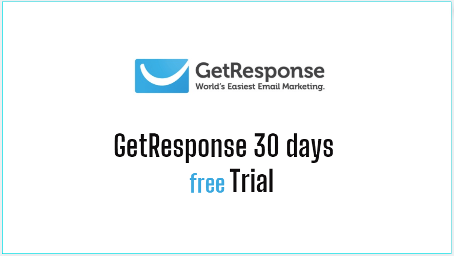 Getresponse Free Trial 2021- (30-Days) Using For Email Marketing